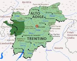 Cartina Veneto Trentino.R N S Trentino Alto Adige